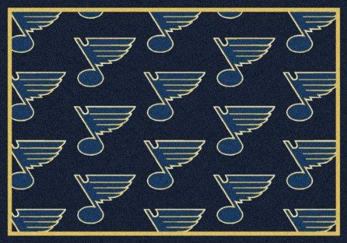 NHL Team Repeat St. Louis Blues Area Rug