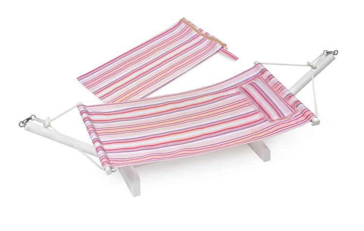 Portable Doll Hammock with Travel Bag