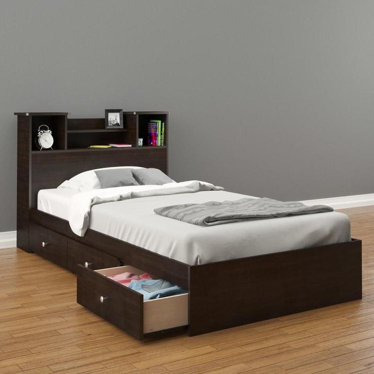 Nexera Pocono Twin Bed BUNDLE #400576