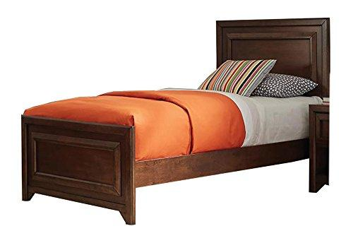 Coaster Greenough Transitional Maple Oak Twin Bed