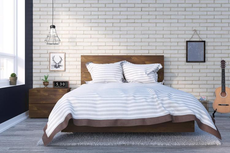 Karibou Full Size Bedroom Set #400861 from Nexera, Truffle