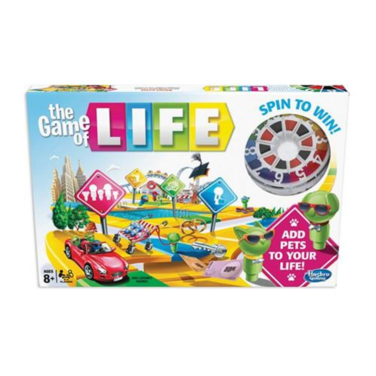 Milton Bradley Game Of Life