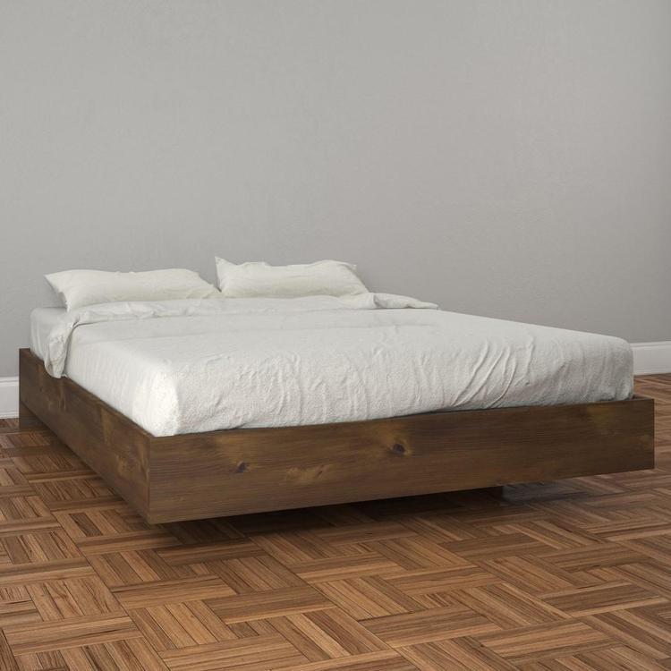 Nexera Full Size Platform Bed 401254, Truffle