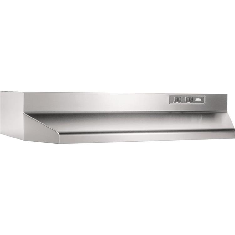 Broan 42 In. Two-Speed Ducted Under Cabinet Range Hood - Almond