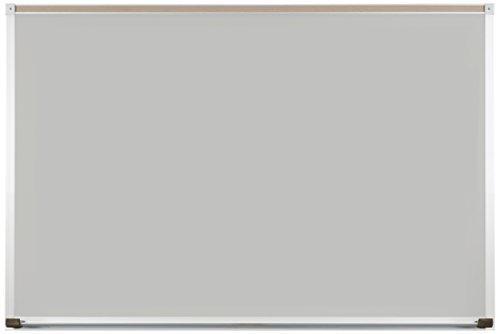 Evolution Projection Surface - matte gray - deluxe aluminum trim - 2x3