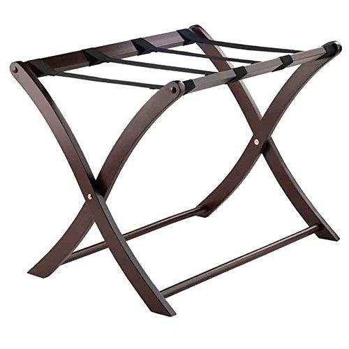 Winsome Wood Scarlett Luggage Rack Cappuccino