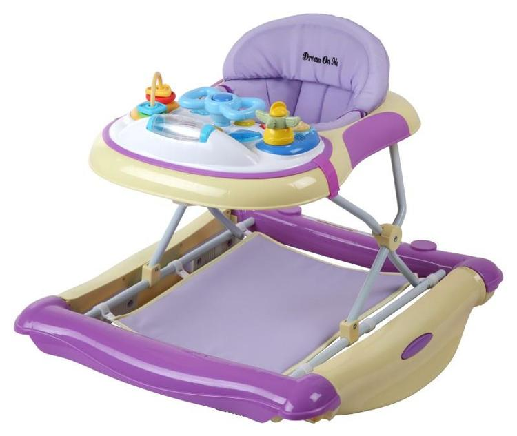 Dream On Me 2 In 1 Crossover Musical Walker And Rocker