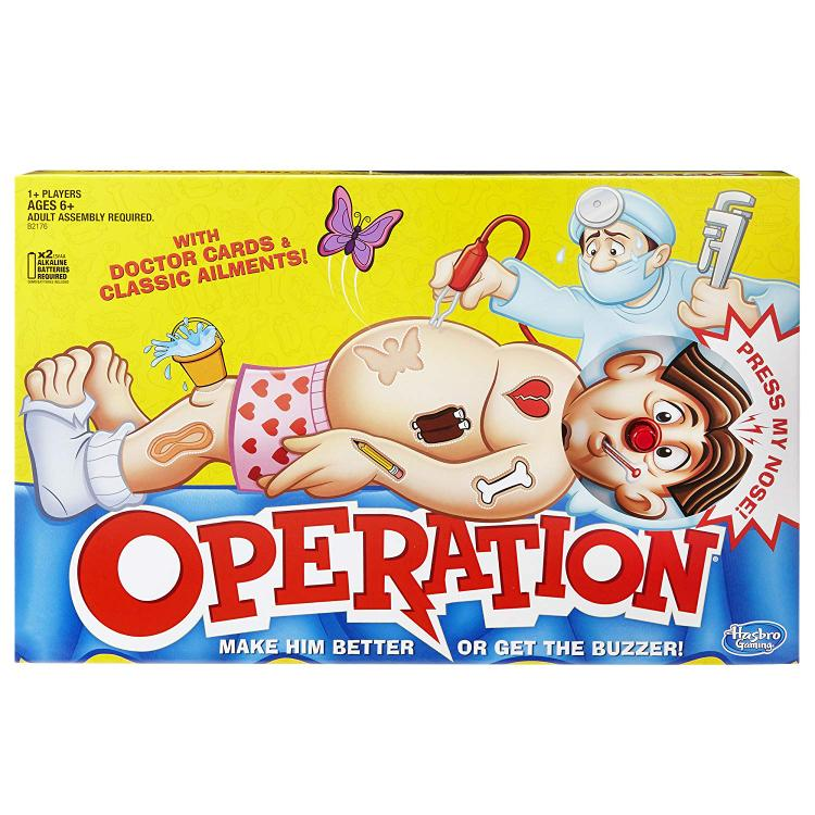 Milton Bradley Operation