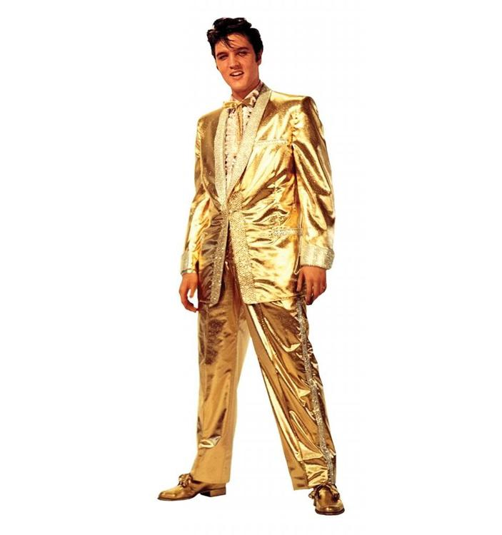 Elvis Presley - Gold Lame` Suit