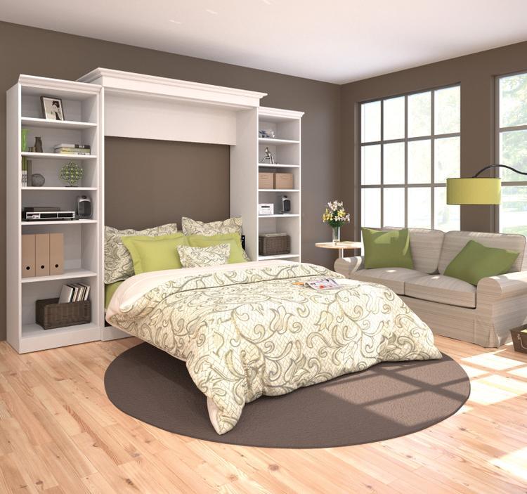 Versatile by Bestar 115'' Queen Wall Bed Kit