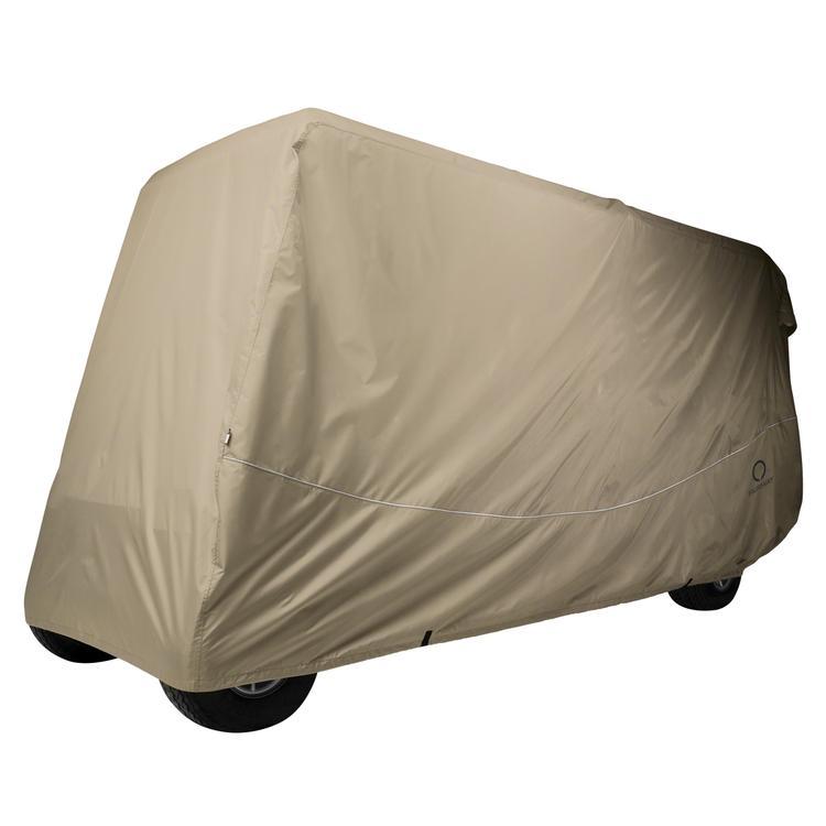 Classic Accessories Fairway Golf Car Quick-Fit Cover, 6 Passenger