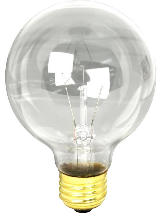 Feit Electric 40G25 Bulb Globe Clr 40W