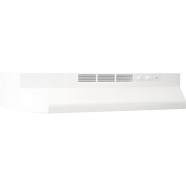 Broan 42 In. Two-Speed Non-Ducted Under Cabinet Range Hood - Stainless Steel