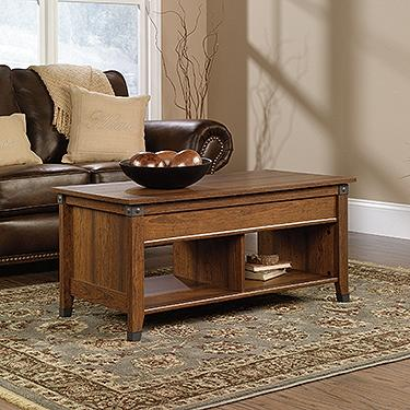 Carson Forge Lift-Top Coffee Table