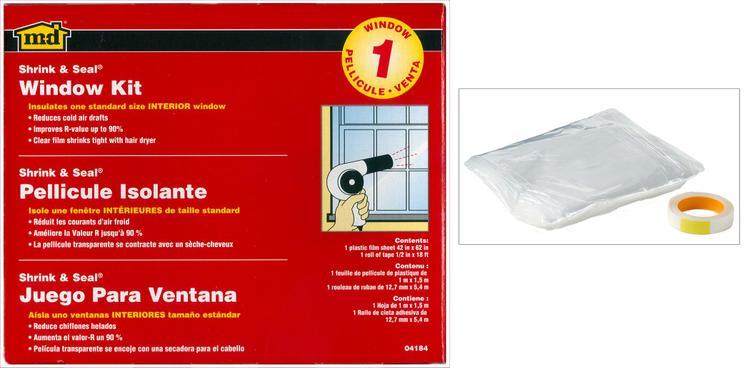 M-D 04184 Window Insulate Kit