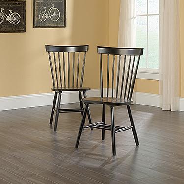 Sauder New Grange Cottage Road Spindle Back Chair