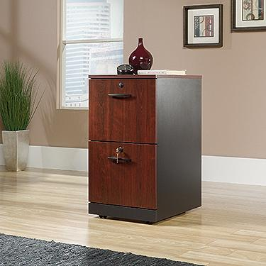Sauder Via 2-Drawer Pedestal