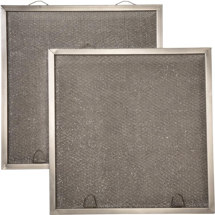 Broan Replacement Microtek Filter for Non-Ducted Range Hood (2-Pack)