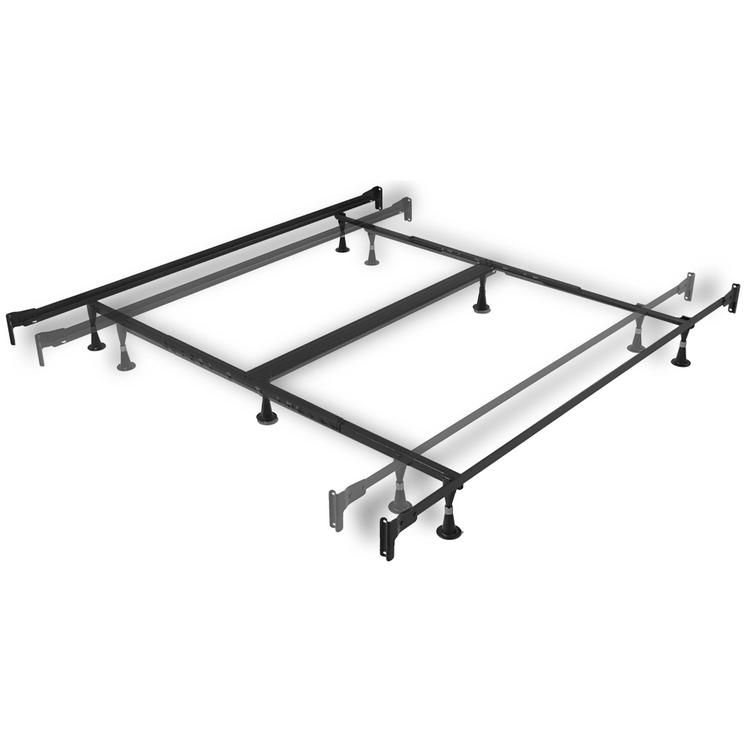 Engineered Adjustable 856 Bed Frame with Fixed Head & Food Panel Brackets and (6) Glide Legs
