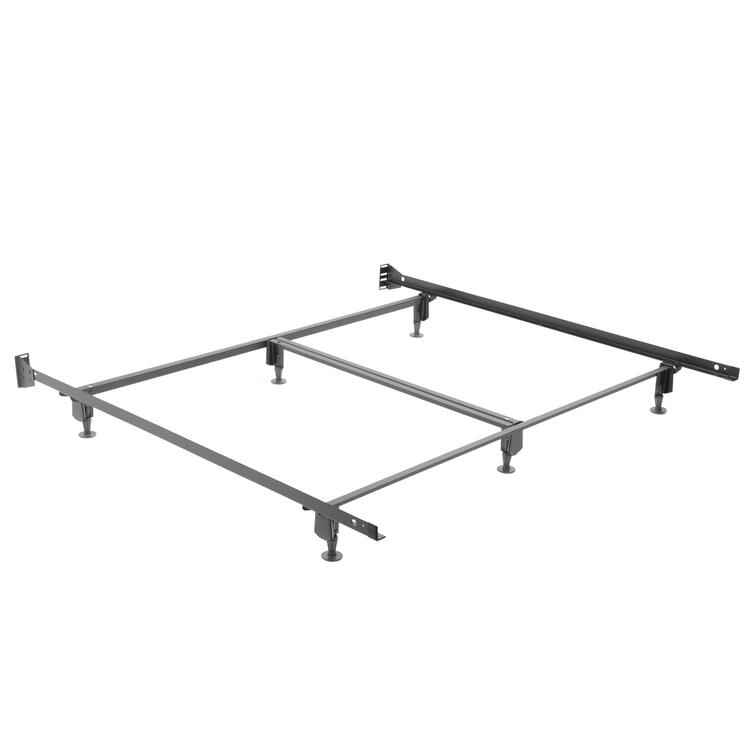 Inst-A-Matic Premium 774G Bed Frame With Headboard Brackets And (6) 2-Piece Glide Legs