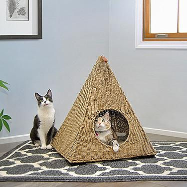 Sauder Pyramid Cat Nester