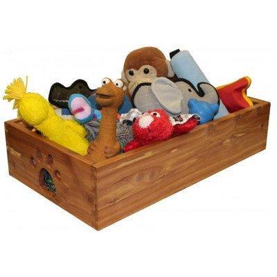 Small Pet Toy Box - Cedar