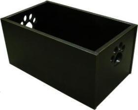 Pet Toy Box - Classic Black
