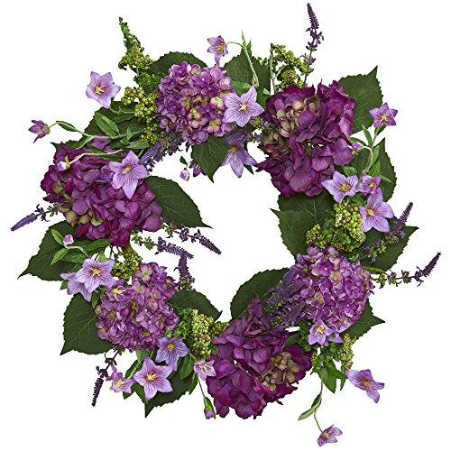 24? Hydrangea Artificial Wreath