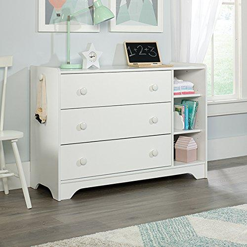 Pinwheel Chest, Soft White Finish