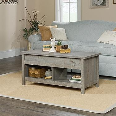 Sauder Cannery Bridge Lift Top Coffee Table Myo