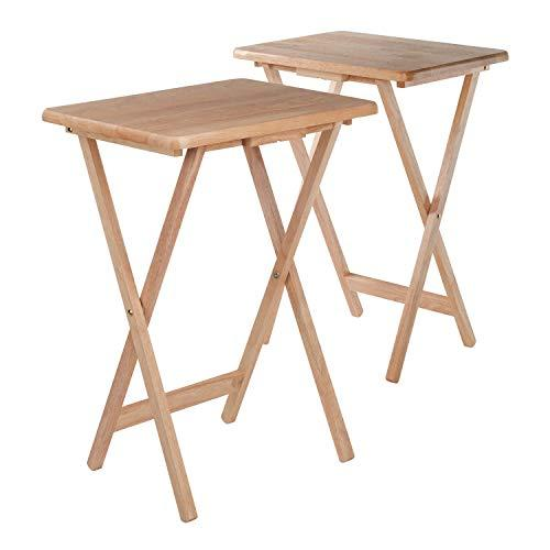 Winsome Wood Alex 2-pc Snack Table Set