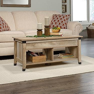 Sauder Carson Forge Lift Top Coffee Table Lo