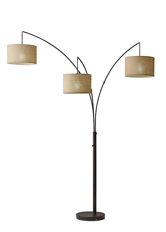 Adesso Trinity Arc Lamp