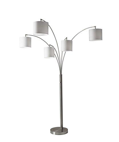 Trinity 5-Arm Arc Lamp- Steel 2 BOX
