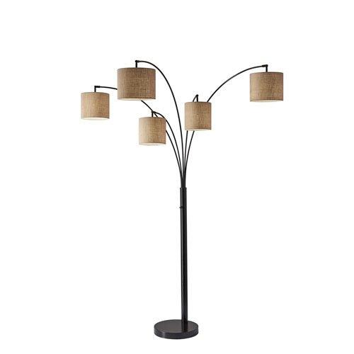 Adesso Trinity 5-Arm Arc Lamp - Box of 2
