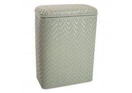 WC Redmon Elegante Collection Decorator Color Wicker Hamper