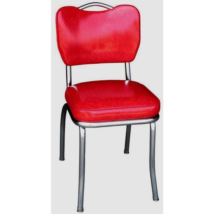 Handle Back Diner Chair with 2