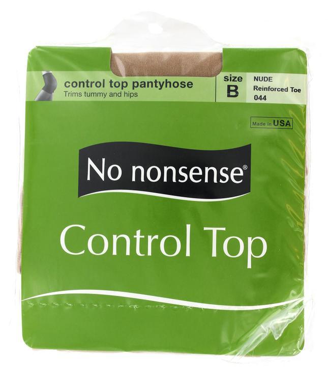 No Nonsense 43044 Nylons Ct Rt Nude B