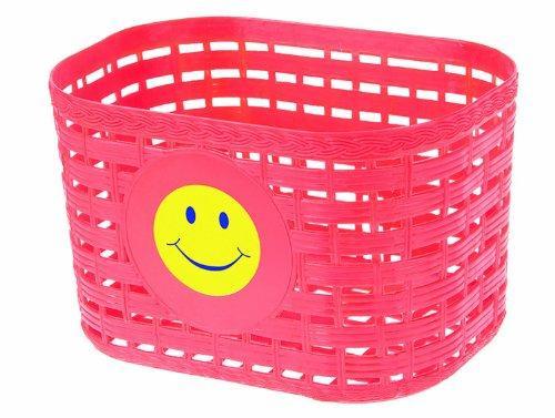 Smiley Face Children's Basket (Red)