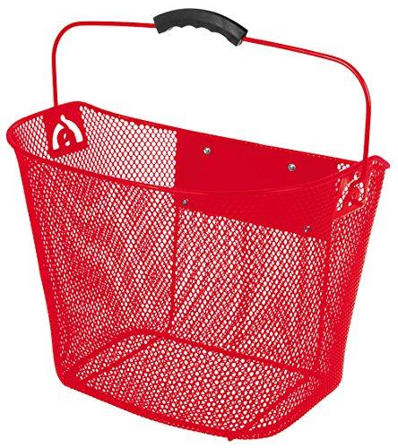 Quick Release Red Wire Basket