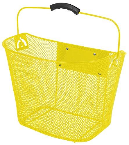 Quick Release Yellow Wire Basket