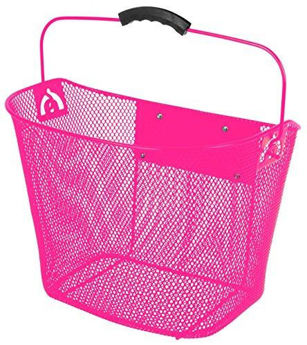 Quick Release Pink Wire Basket
