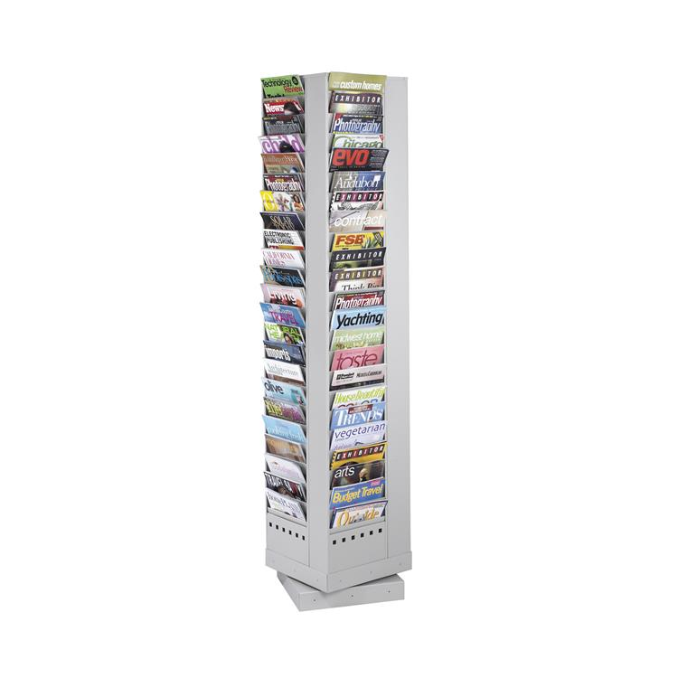 Steel Rotary Magazine Rack, 92 Pocket