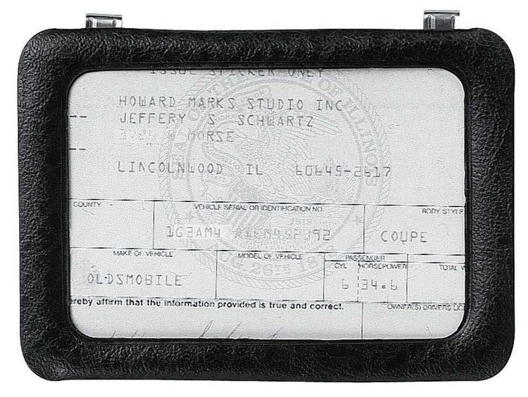 43331 Certificate Holder