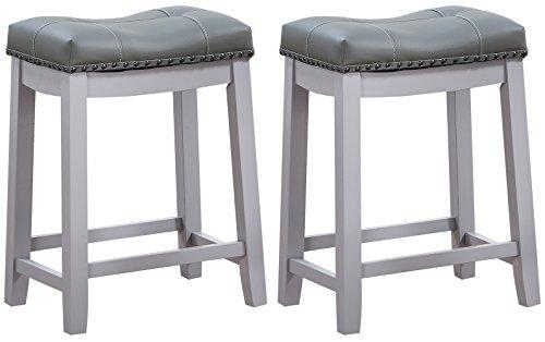 Angel Line Cambridge Bar Stools - Set of 2 - [43418-75]