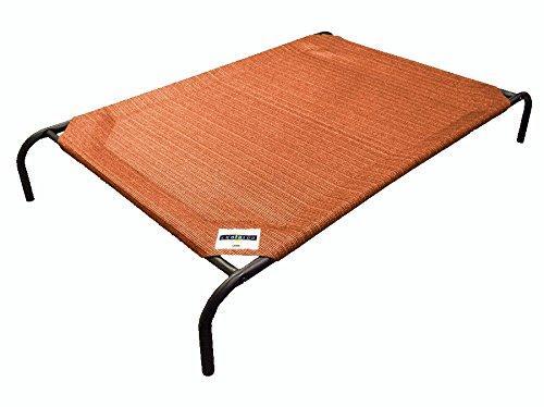 Coolaroo Elevated Pet Bed Medium Terracotta