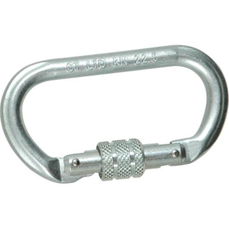 Liberty Steel Oval Carabiner [Item # 434660]