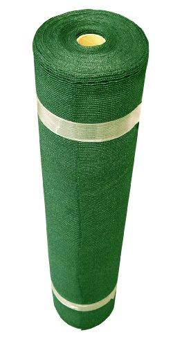 Coolaroo Medium Shade Fabric Roll 6ft x 100ft Forest Green