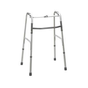 Folding 2-button walker, oversize bariatric, no wheels, 1 each [Item # 43-2104]