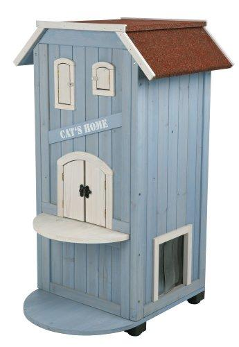 TRIXIE Pet Products 3-Story Cat's House